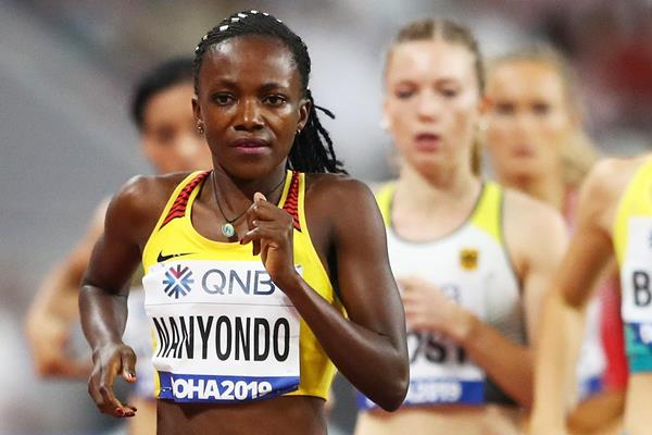 Winnie Nanyondo at the IAAF World Athletics Championships Doha 2019 (Getty Images)