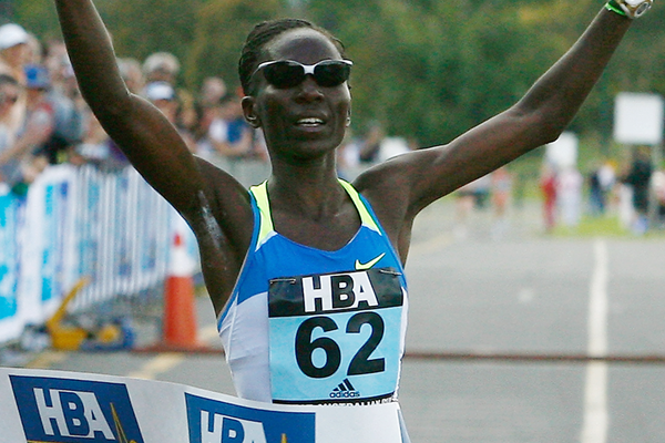 Kenyan marathon runner Catherine Ndereba (Getty Images)