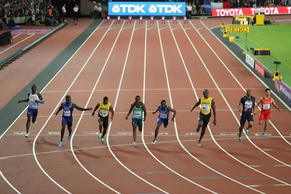 The men's 100m final - IAAF World Championships London 2017 (Getty Images)