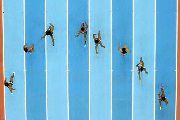 Sprinters at Arena Birmingham (Getty Images)