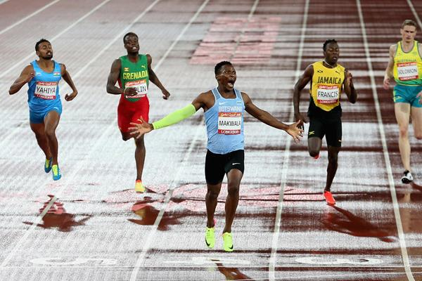 Dominant Commonwealth 400m gold for Isaac Makwala (Getty Images)