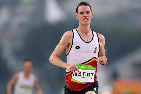 Koen Naert in action in the marathon at the 2016 Rio Olympic Games (Getty Images)