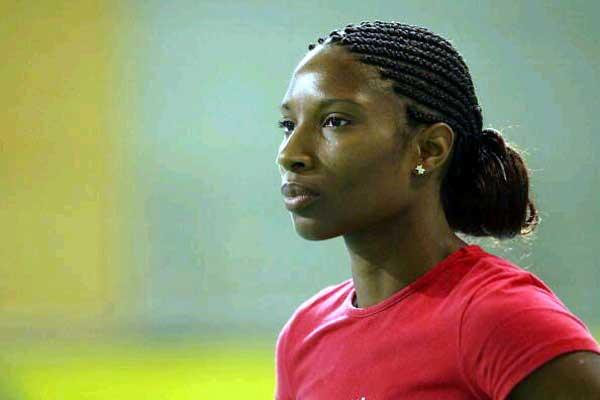 Denise Lewis in Sheffield (Getty Images)