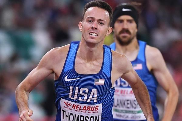 US middle-distance runner Josh Thompson (Getty Images)