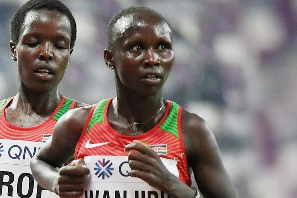 Kenyan distance runner Rosemary Wanjiru (AFP / Getty Images)