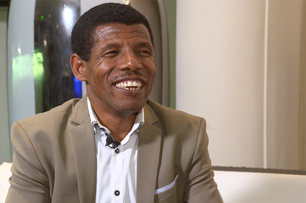 Haile Gebrselassie on IAAF Inside Athletics (IAAF)