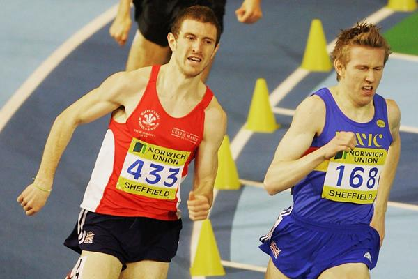 Jimmy Watkins in action at the 2006 British Indoor Championships (Getty Images)