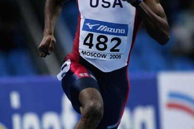 Milton Campbell of USA in action in the men's 400m first round heats (Getty Images)