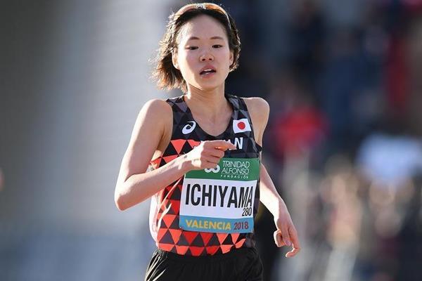 Japanese distance runner Mao Ichiyama (Jiro Michozuki)