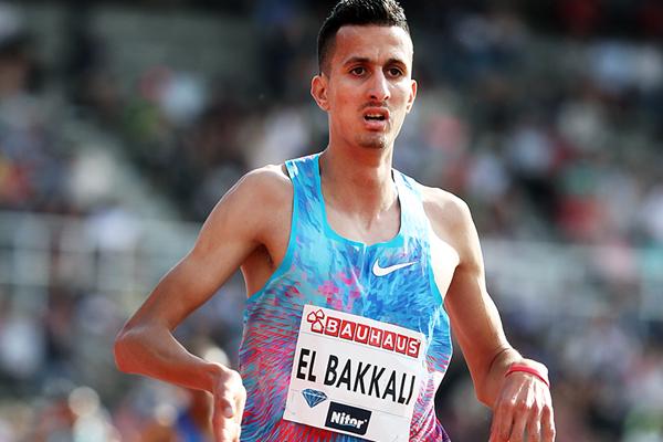 Soufiane El Bakkali wins the steeplechase at the IAAF Diamond League meeting in Stockholm (Giancarlo Colombo)