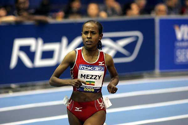 Meseret Defar comes close to World indoor 3000m record - Boston (Victah Sailer)