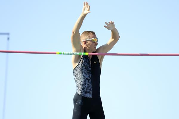 Sam Kendricks tops 6.06m at the US championships in Des Moines (Getty Images)