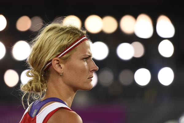 Latvian javelin thrower Madara Palameika (AFP / Getty Images)