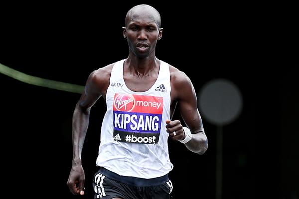 Kenyan marathon runner Wilson Kipsang (Getty Images)