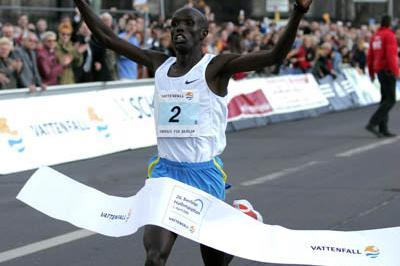 Paul Kosgei's sensational 59:07 win at the Berlin Half Marathon (Victah Sailer)