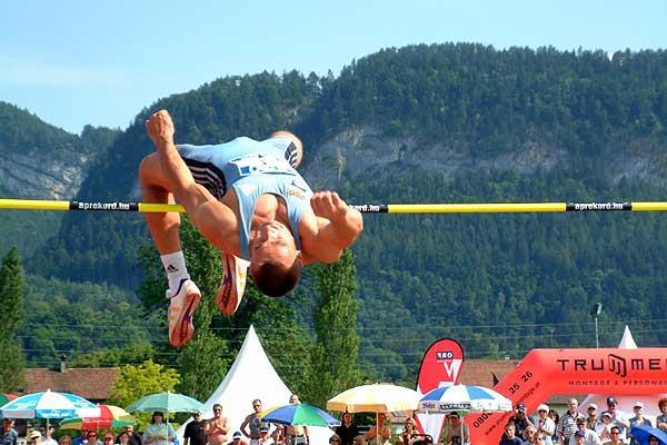 Roman Sebrle in High Jump (IAAF)