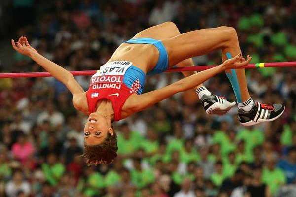 Blanka Vlasic in the high jump final at the IAAF World Championships, Beijing 2015 (Getty Images)