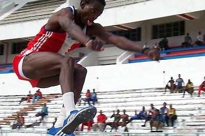 Alexis Copello at the 2006 Cuban National Olympics (Javier Clavelo Robinson)