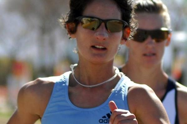 Ines Henriques en route to victory in the Chihuahua 20K (Organisers)