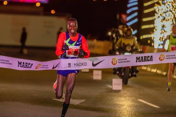 Daniel Simiu wins in Madrid (Organisers)