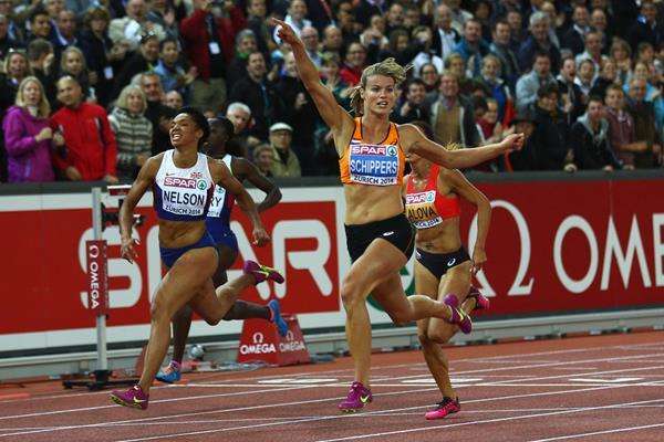 Dafne Schippers wins the European 100m title (Getty Images)