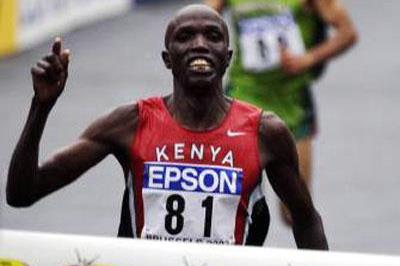 Paul Kosgei wins World Half Marathon (Getty Images)