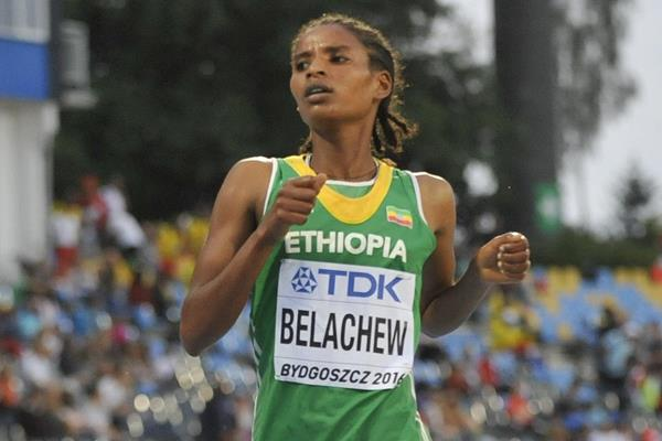 Ethiopian steeplechaser Agrie Belachew (Getty Images)
