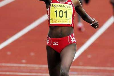 Tirunesh Dibaba wins the women's 5000m in Oslo (Getty Images)