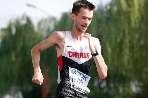 Canada's Ben Thorne in the 20km race walk at the IAAF World Championships, Beijing 2015 (Getty Images)