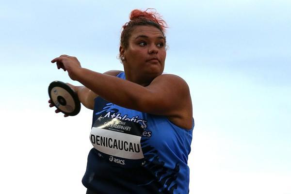 Yasenaca Denicaucau at the 2013 Australian Junior Championships (Getty Images)