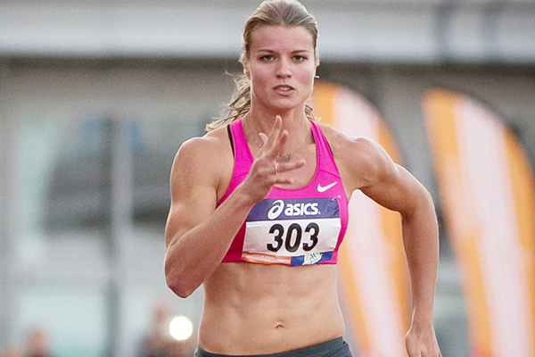 Dafne Schippers in action at the 2015 Dutch Championships (Getty Images)