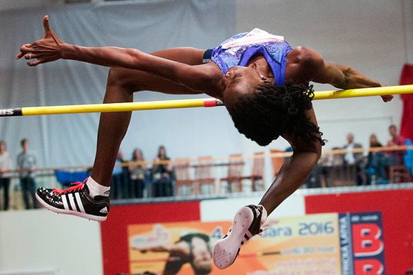Nigeria's Doreen Amata, the high jump winner in Banska Bystrica (Organisers)