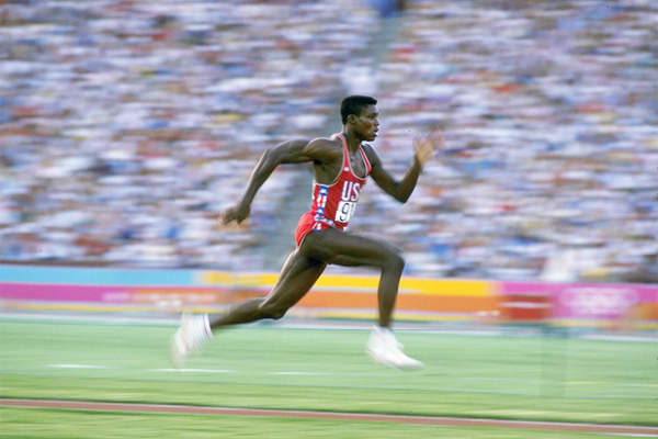 Sprint and long jump legend Carl Lewis (Getty Images)
