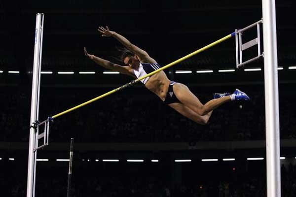 Isinbayeva clears a new World record of 4.92 in Brussels (Getty Images)