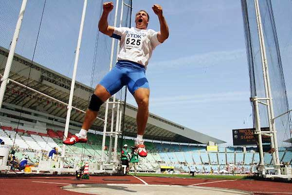 Gerd Kanter blasts out is qualifier in the Discus Throw after two below par opening rounds (Getty Images)