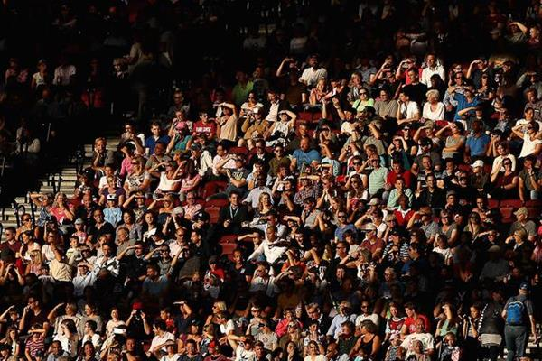 Fans at a World Championships (Getty Images)