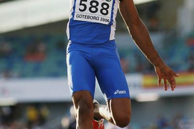 8.33 leap by Andrew Howe in Gothenburg qualifying (Getty Images)