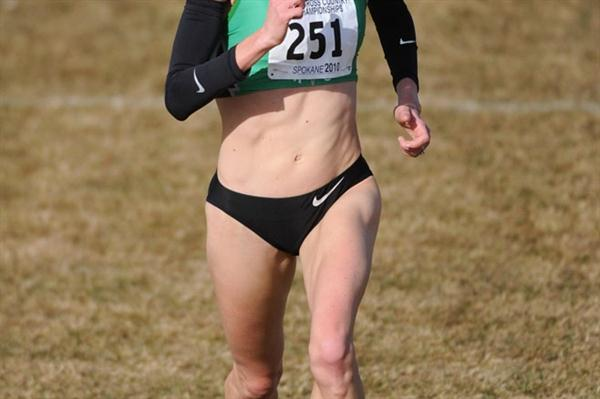 Another national cross country title for Shalane Flanagan (Kirby Lee)