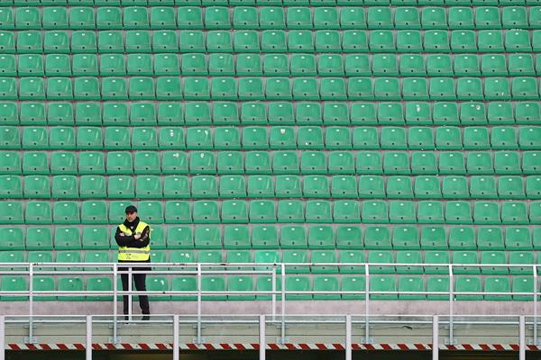 Stadium on lockdown (Getty Images)