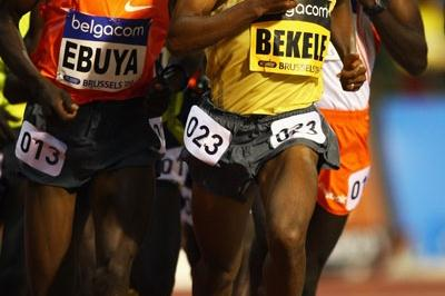 Kenenisa Bekele wins the last of his ÅF Golden League 5000m races to take a share of the $1million jackpot (Getty Images)