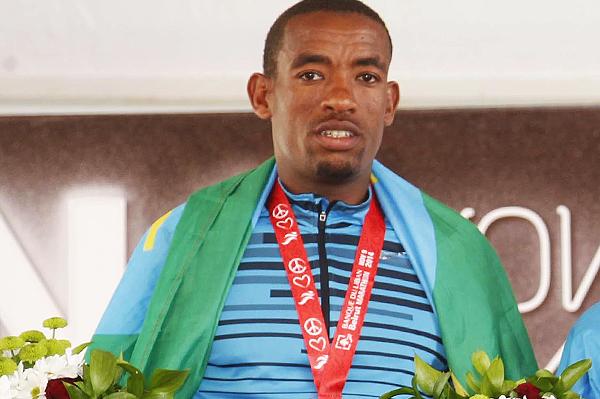 Ethiopian marathon runner Abdela Godana (Organisers)