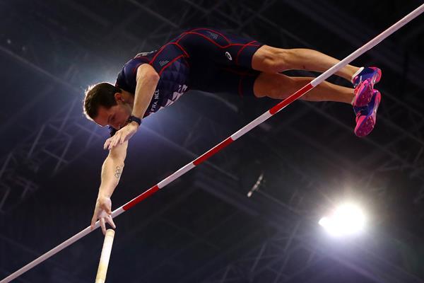 Renaud Lavillenie in Birmingham (Getty Images)