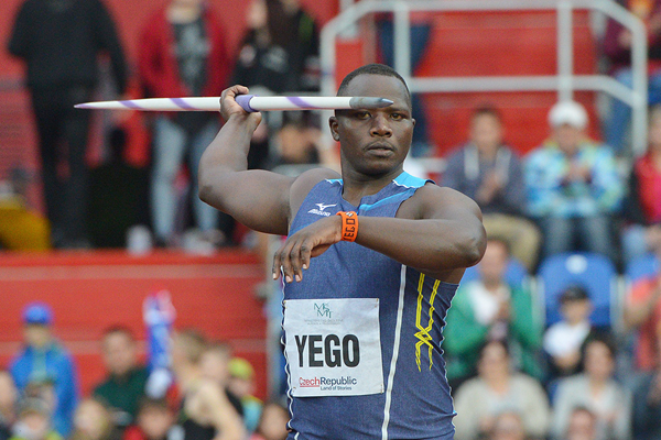 Kenya's Julius Yego in the javelin (AFP / Getty Images)
