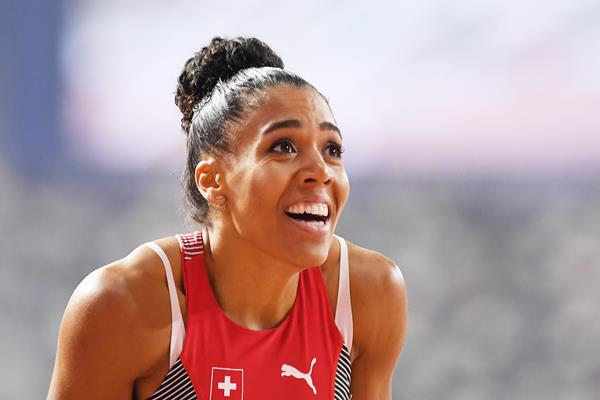 Mujinga Kambundji at the IAAF World Athletics Championships Doha 2019 (Getty Images)