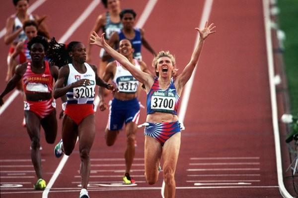 80 Years of Women Athletics at Olympic Games - Svetlana Masterkova - 1996 (Getty Images)