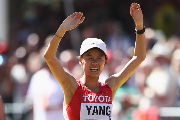 Chinese race walker Yang Jiayu (Getty Images)
