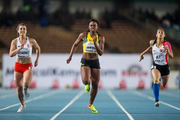 The girls' 100m final at the IAAF World U18 Championships Nairobi 2017 (Getty Images)
