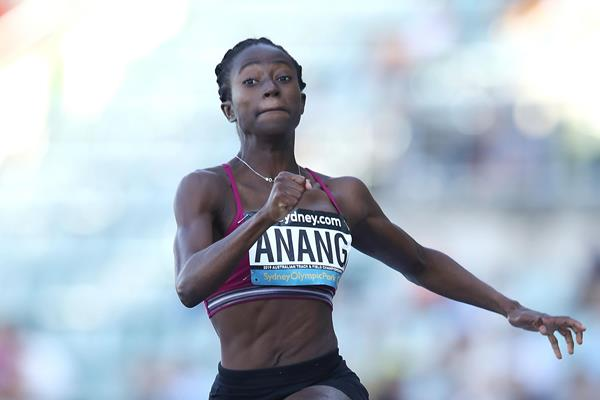Australian long jump champion Naa Anang  (Getty Images)
