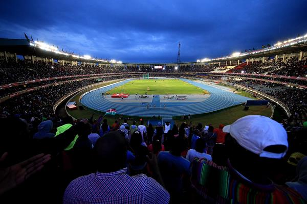 Nairobi's Kasarani Stadium filled with athletics fans (Getty Images)