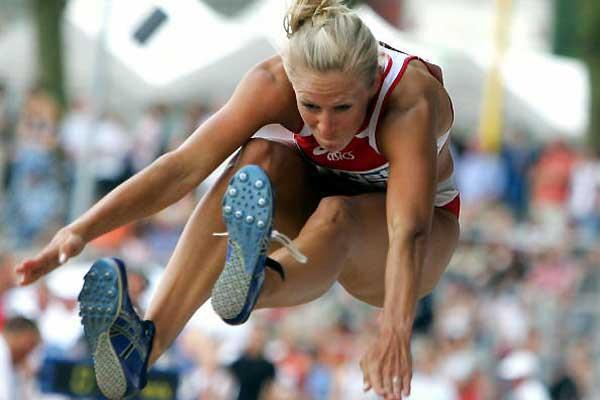 Bianca Kappler in the Long Jump - German Champs (Bongarts/Getty Images)